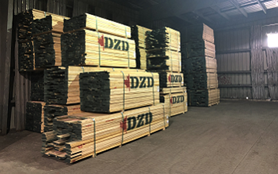 DZD-Hardwood: Storage Facility